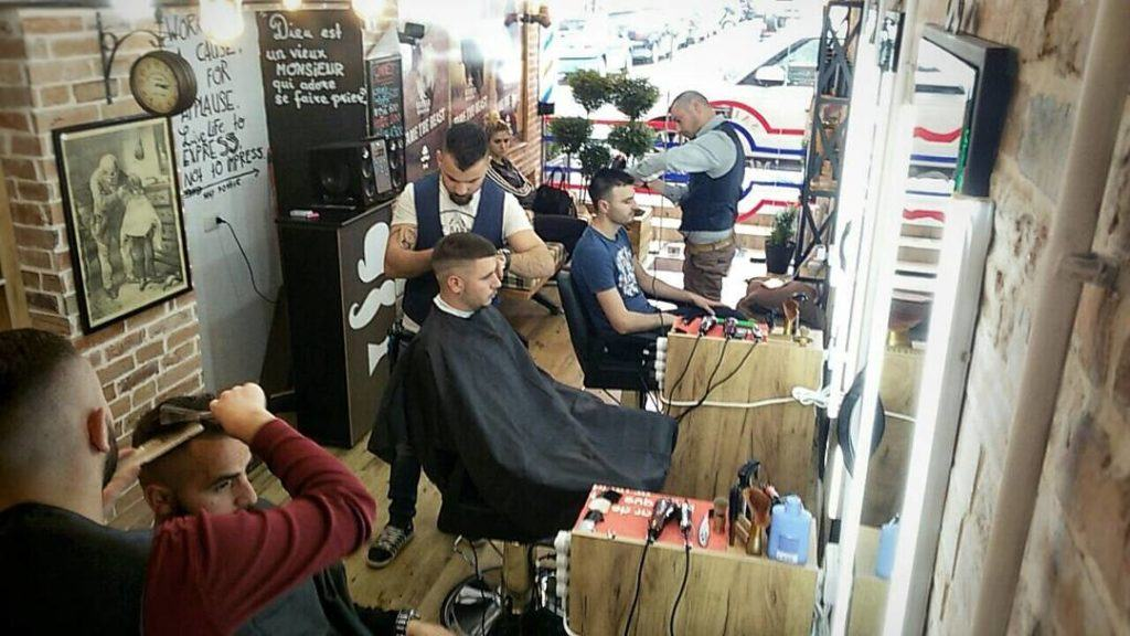 Barber at free time of medical tour to Kiev - Overseas Medical Ukraine